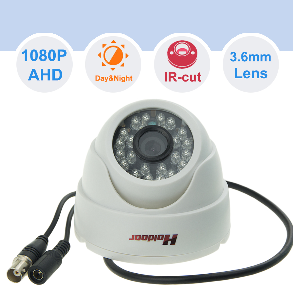 NTSC PAL 1/4 CMOS 3.6mm Lens BNC connector AHD 1080P CCTV Surveillance Camera with IR LED for Outdoor Indoor Night Vision <br><br>Aliexpress