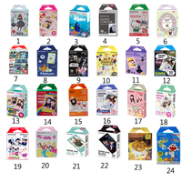 Genuine Fujifilm Instax Mini 8 Film Fuji Instant Colored Photo Paper 10 Sheets For 8 7s 7 50s 50i 90 25 dw Share SP-1 Cameras