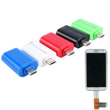 Android USB 2.0 Female to Micro B Male 5 Pin Connector Adapter Converter for Samsung S3 S4 S5 Note2