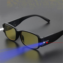 LED Reading Glasses Women Men Eyeglass Spectacle Diopter Magnifier Light UP Male Female Glasses 1.0 1.5 2.0 2.5 3.0 3.5 4.0