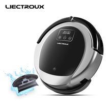 (free all)LIECTROUX Robot Vacuum Cleaner B6009,2D Map&Gyroscope Navigation,Low Repeat,Virtual Blocker,UV,Water Tank,Smart Memory(China)