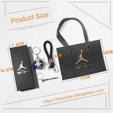 Howplay Basketball Model Keychain Pendant Car Bag Fan Boyfriend Creative Birthday Gift For Air Jordan