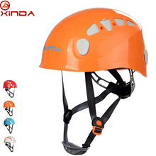 XINDA Adjustable Outdoor Rock Climbing Helmet Mountaineering Safety Caving Rescue Wading Riding Downhill Hiking Helmet