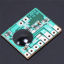 3PCS 6secs 6S Programmable Sound Audio Recordable Voice Chip Recorder Module 0.5W Speaker For Greeting Card 3-4.2V