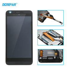 black for HTC Desire 626S lcd display touch screen digitizer full assembly with frame replacement parts ,free shipping
