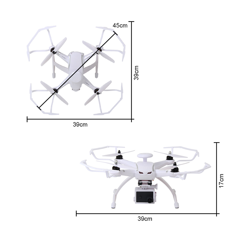 AOSENMA CG035 RC Helicopters WIFI Drone with Camera HD 1080P Quadcopter Gimbal GPS Brushless Motor Follow Me Mode -14