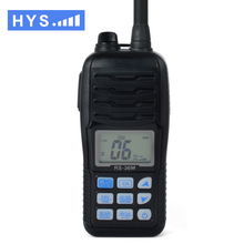 HYS TC-36M Marine Radio Walkie Talkie 80CH VHF Waterproof IP-X7 Handheld HF Transceiver Portable Large LCD Display