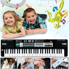 New 61 Keys Digital Music Electronic Keyboard Key Board Gift Electric Piano Gift Music Instrument toys for children 25#yh(China)