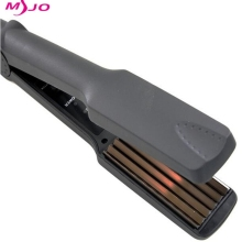 Professional Electronic Temperature Control hair straighteners 220-240V Crimper  hair curler corrugated Iron styling tools