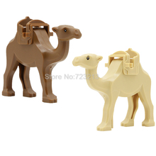 Brown Camel Blocks With Saddle Prince of Persia Single Sale The Sands of Time Building Set Model Bricks Kits Toys for Children(China)