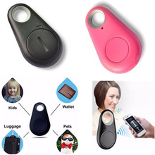 Smart Bluetooth Tracer Pet Child Kid GPS Locator Tag Alarm Wallet Key Tracker On Car