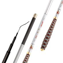 Ultra-light Ultra Hard Carp Fish Hand Pole Stream Fishing Fod Carbon Rod Fishing Rod Set With Fishing Line & Float(China)