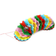 1pc Colorful Garland (pull flower) large size ,stage magic trick ,Accessories,illusions,close up,Fun Magic,Classic,gimmick