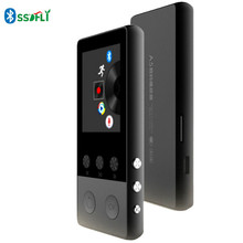 Metal Bluetooth MP3 Player 8GB 1.8 Inch High-fidelity Music Playback Display 70h with FM Radio E-book MP3 and Audio Player(China)