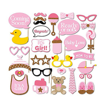 30 piece photo props fun birthday baby whimsy red lip pink paper beard role playing ducks modelling photos items on sale