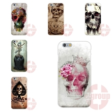 Soft TPU Silicon Popular Hot For LG G2 G3 G4 G5 Spirit Mini K4 K7 K8 K10 V10 V20 2016 poker skull tatoo