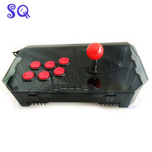 QANBA N1-G arcade joystick USB cable arcade game for PS3/PC/PC360/Android smart TV KOF transparent shell