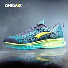 Onemix Brand 2016 New Sports Running Shoes Sneakers for Men and Women Outdoor Walking and Running Breathable Good Quality(China)
