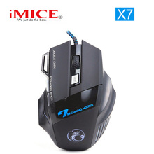 [Genuine] ESTONE X7 Professional Mice 7 Buttons Gaming Mouse Optical USB Wired Computer Notebook Mouse Cable Gamer Peripherals(China)