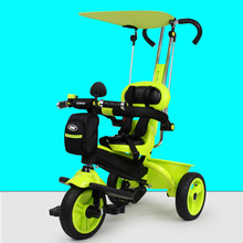 Child tricycle male and female children bicycle inflation wheel baby trolley baby bicycle