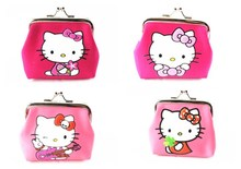 Hot Girl Plush Hello Kitty Coin Purse Dream Star Student Portable Zipper Ladies Coin Keys Holder Feminina For Christmas Gift(China)
