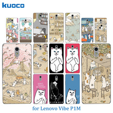 Buy New Lenovo P1M Lenovo Vibe P1M Cats Family Pattern Soft Silicon TPU Back Cover Case Lenovo Vibe P1 M a40 Phone Case for $1.46 in AliExpress store