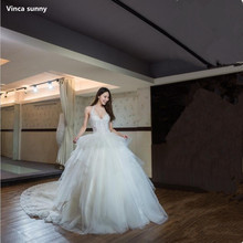 Buy Vinca sunny Real Images Vestido De Novia Tulle Wedding Dress 2018 Tiered Bridal Dresses Robe de Marriage Wedding Gowns for $241.92 in AliExpress store