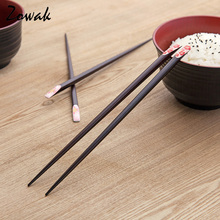 Sakura Japanese Wood Chopstick Set Reusable Classic Style Chopsticks Gift Sushi Chopsticks Chinese Kitchen Dinner Cooking Rice