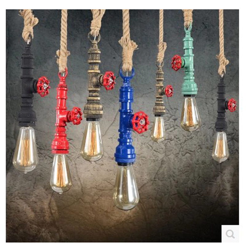 Now retro Pendant Lights A variety of colors can be selected Hemp Channel pendant LIGHTS SG3 LU1020<br>