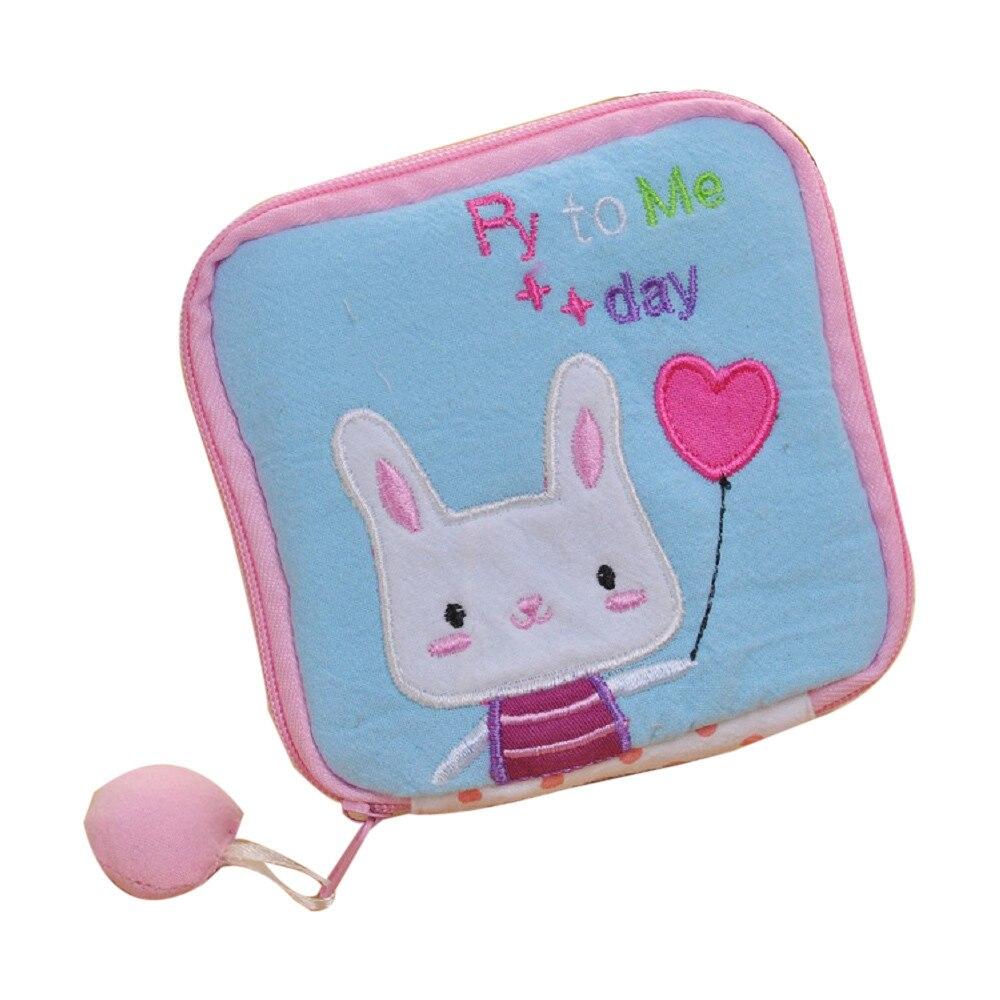 2016 Women Famous Brand Wallets Cute Sanitary Pad Organizer Holder Napkin Towel Convenience Mini Coin Bags<br><br>Aliexpress