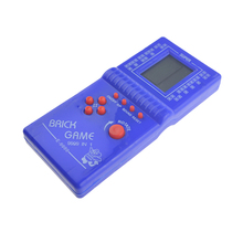 Classic Childhood Tetris Hand held LCD Electronic Game Toys Pocket Game Console Handheld Game Players(China)