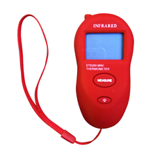 New Style Mini Pocket LCD Non-Contact IR Infrared Thermometer Gauge Meter - 50 Degrees Celsius to 260 Degrees Celsius