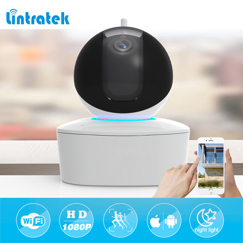 lintratek wifi ip camera 1080P Home Security Surveillance Camera mini wireless CCTV camera wi-fi Motion detection Baby monitor<br>