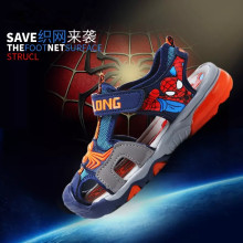 Children's Summer Spiderman Sandals 2017 Kids Boys Spider Man Slip-Resistant Slides Girls Baby High Quality Beach Sandal Shoes