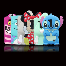 For LG L Fino Case Hot 3D Silicon Bunny Stitch Minnie Sulley Cartoon Cell Phone Back Skin Cover Case for LG L Fino D295 D290