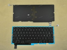 "New FR French Clavier Keyboard For Apple Macbook Pro Unibody 15"" A1286 2008 Black Backlit Without Frame"