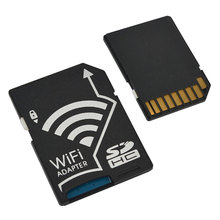 Good-Quality Wifi SD Card Adapter Micro SD MicroSD TF Converter for SONY Canon Nikon Cameras Photos Wirelessly to Phone Tablets