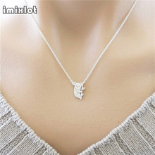 Cute Koala Bear Necklace Pendant Collares Mujer Plated Silver Animal Chain Jewellery Accessories For Gift