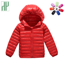 Kids winter jacket Hooded Boys girls outerwear Children's Winter Jackets Cotton Infant Clothing Padded Jacket 4 5 6 7 8 11 Years(China)
