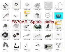 ASP four-stroke engine FS70AR spare parts piston ring exhaust door carburetor assembly Rocker arm screw spring cylinder cover(China)