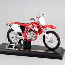 1/18 mini scale children metal Diecast YAMAHA YZ-450F motorcycle MX supercross Motocross dirt bike race models gift Toy for boy(China)
