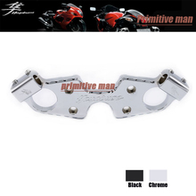 For SUZUKI HAYABUSA GSX1300R GSX 1300R 2008-2015 Motorcycle Accessories Lowering Triple Tree Front End Upper Top Clamp Chrome