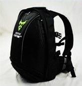 Green Reflective motorcycle knight backpack helmet bag motorcycle riding shoulder bag off-road motocross Racing package(China)
