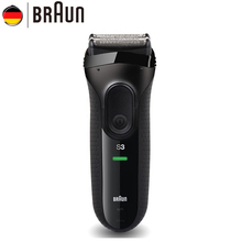 Orignal Braun Series 3 Electric Razors 3020S Blades Reciprocating Shaving Machine Electric Shaver For Men Hair Trimmer(China)