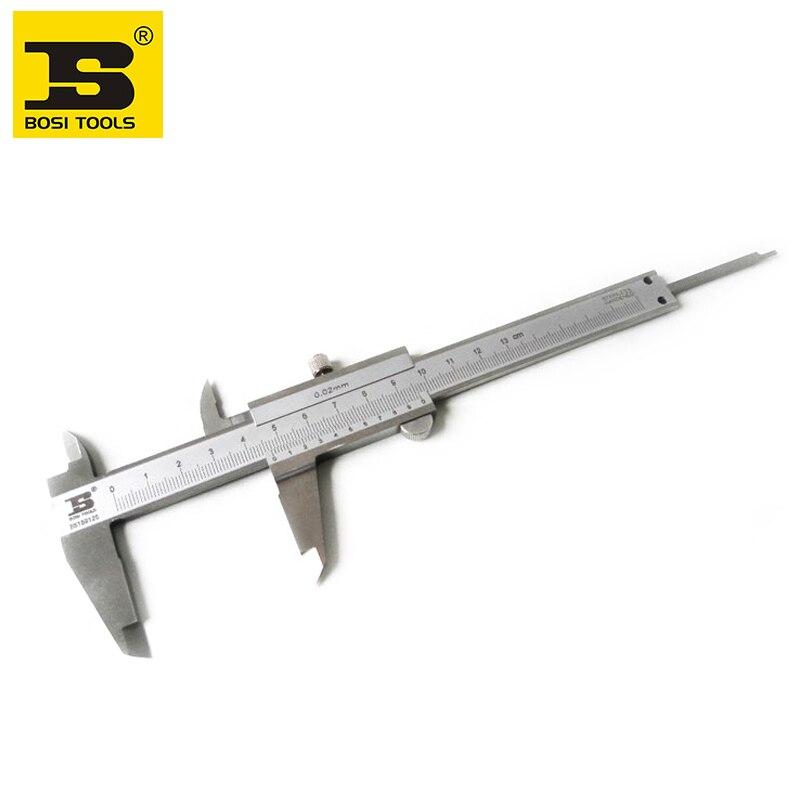 free shipping new BOSI professitional 125mm mono-block vernier caliper<br><br>Aliexpress