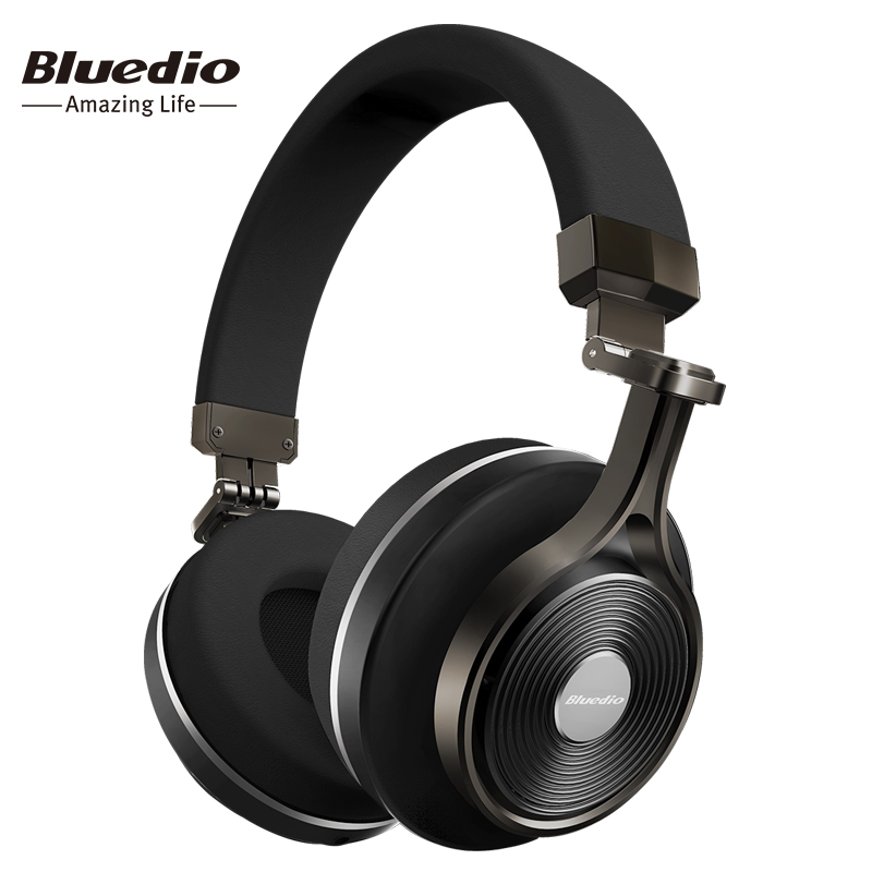Bluedio T3 Plus wireless Bluetooth headphones wire...