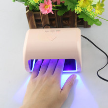 US Professional 30s/60s/90s Timer gel nail polish dryer 9W LED UV Nail Lamp Polish Machine Led Light Nail Dryer Gel Home Use#10(China)