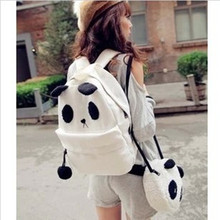 High Quality New Hot Fashion Cute Girl Style Panda Schoolbag Backpack Shoulder Book Bag Set RD641113