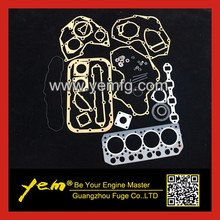 For Mitsubishi  diesel engine parts S4L S4L2 full gasket set with cylinder head gasket