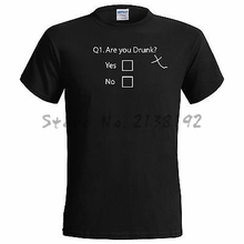Are You Drunk Funny Mens T Shirt Alcohol Stag Drinking men's top tees